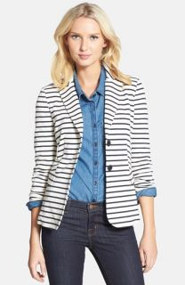 Weekend Max Mara Comma Stripe Jersey Jacket