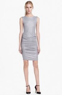 Alice + Olivia Cathy Side Ruched Dress