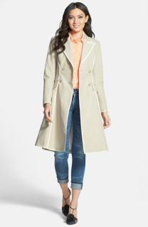 SJP Manhattan Grosgrain Trim Skirted Trench Coat ( Exclusive)