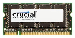 Crucial Technology 256MB 184 Pin PC2100 266Mhz DIMM DDR RAM: Electronics
