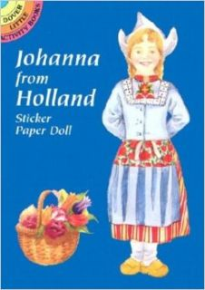 Johanna from Holland Sticker Paper Doll: Natalie Carabetta: 9780486412818: Books