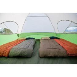 Coleman Evanston   Carpa con ventana para ocho personas, verde/blanco (12 x 15) Coleman Emergency Shelters & Tents
