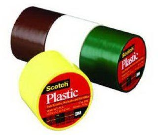"3M 191CL Scotch 1 1/2"" x 125"" Colored Plastic Tape, Clear: Home Improvement"