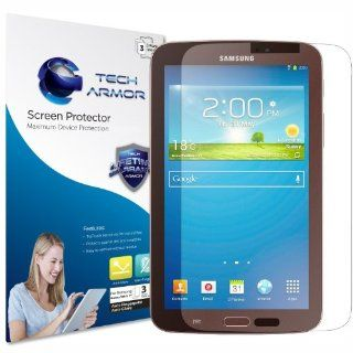 "Tech Armor Samsung Galaxy Tab 3   7"" Anti Glare/Anti Fingerprint (Matte) Screen Protectors [3 Pack] Lifetime Warranty: Computers & Accessories"