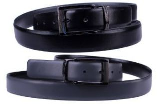 Stacy Adams 6 186 Twist Reversible Mens Adjustable Belt with Laser Engraved Detail, Gun Metal Finish Buckle (34, Black / Gray) at  Men�s Clothing store