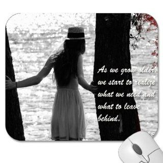"Mousepad   9.25"" x 7.75"" Designer Mouse Pads   Quotes   Sayings   Inspirational (MPQU 189)"
