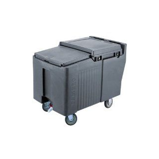 Cambro ICS175L 191 Sliding Lid Polyethylene Standard Height Ice Caddy, 29 3/16 Inch, Granite Gray: Kitchen & Dining