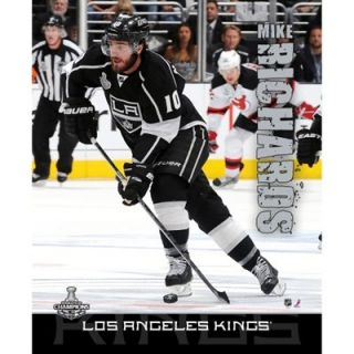 Mike Richards 2012 Stanley Cup Champions Stretched 16 x 20 Canvas
