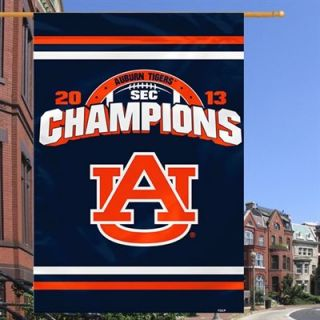 Auburn Tigers 2013 SEC Football Champions House Flag