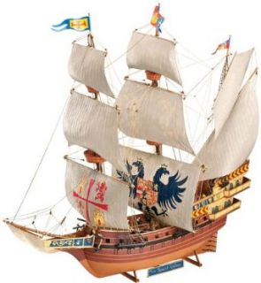 Revell of Germany Spanish Galleon Plastic Model Kit: Toys & Games