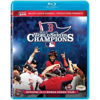 Boston Red Sox 2013 MLB World Series Champions Official Film Blu ray Disc