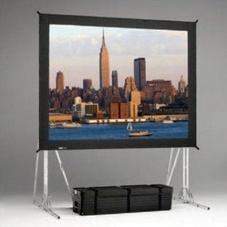 "Da Lite 95721 Truss Complete Screen Kit for Fast Fold Portable Rear Projection Screen   10 x 13'   197"" Diagonal   Square Format   DA Tex HC   High Contrast: Electronics"