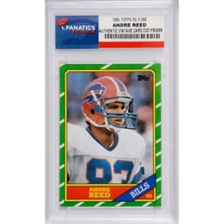 Andre Reed Buffalo Bills 1986 Topps #388 Rookie Card