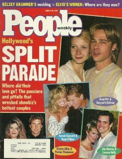 Brad Pitt, Gwyneth Paltrow, Jim Carrey, Lauren Holly, Kirstie Alley, Parker Stevenson, Farrah Fawcett, Ryan O'Neal   August 18, 1997 People Magazine: Everything Else