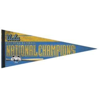 UCLA Bruins 2013 NCAA Mens College World Series Champions 12 x 30 Premium Pennant
