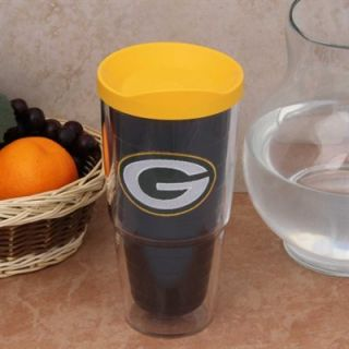 Tervis Tumbler Green Bay Packers 24oz. Logo Tumbler with Lid Pro   Gold/Green