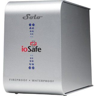 ioSafe Solo 500 GB Fireproof and Waterproof Desktop External Hard Drive with 5 Year Data Recovery Service SL0500GBUSB205YR (Silver): Electronics