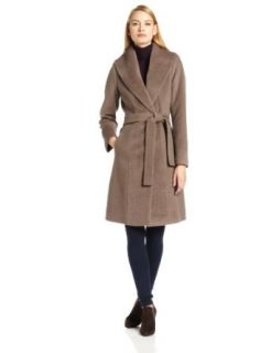 Trina Turk Women's Julia Alpaca Blend Coat, Taupe, 6 at  Women�s Clothing store
