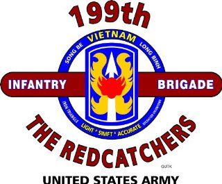 "199TH INFANTRY BRIGADE ""RED CATCHERS"" *VIETNAM* U.S. MILITARY CAMPAIGNS LAMINATED PRINT ON 18"" X 24"" QUARTER INCH POSTER BOARD : Everything Else"