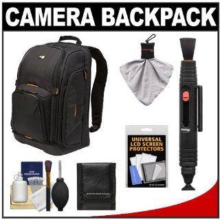 Case Logic Digital SLR Camera Backpack Case (Black) (SLRC 206) + Kit for Canon EOS 7D, 5D Mark II III, 60D, Rebel T3, T3i, T2i Digital SLR Cameras: Camera & Photo