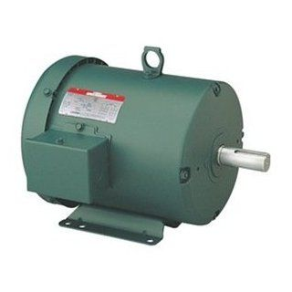 5hp 3500RPM 184T Frame 208 230/460 Volts TEFC Leeson Electric Motor # 131987: Home Improvement