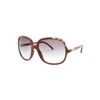 Ernie Fashion Sunglasses: Old Pink/Gray Gradient: Clothing