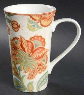 222 Fifth (PTS) Felice Latte Mug, Fine China Dinnerware: Kitchen & Dining