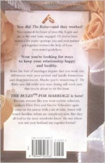 The Rules for Marriage: Time Tested Secrets for Making Your Marriage Work: Ellen Fein, Sherrie Schneider: 9780446526968: Books