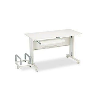 ** Eastwinds Mobile Work Table, 57w x 23�d x 29h, Gray/Gray **   Commercial Work Tables