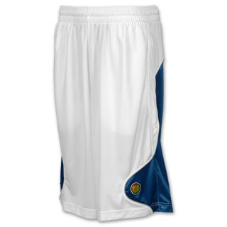 Men's Jordan Retro 13 Basketball Shorts  White/French Blue/Flint
