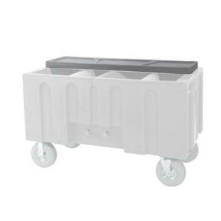 Gray Locking Lid for Super Arctic 080 Mobile 456 qt. Cooler with Wheels: Kitchen & Dining