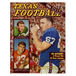1966 Dave Campbell's Texas Football Magazine: Sports Collectibles
