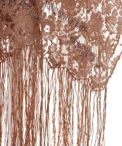 Valentino Embroidered Lace Shawl Valentino Designer Scarves & Wraps