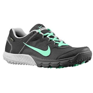 Nike Zoom Wildhorse GTX   Womens   Running   Shoes   Dark Charcoal/Dusty Grey/Green Glow