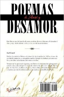 Poemas de Amor y Desamor: Poems in English and Spanish (Spanish Edition): Soad Grayeb: 9781463320423: Books
