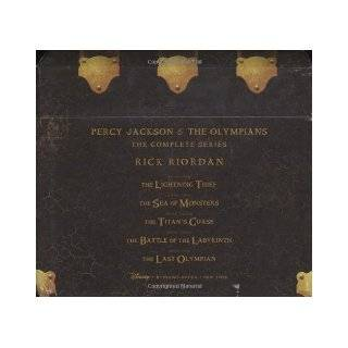 Percy Jackson and the Olympians Hardcover Boxed Set: Books 1   5: Rick Riordan: 9781423119500: Books
