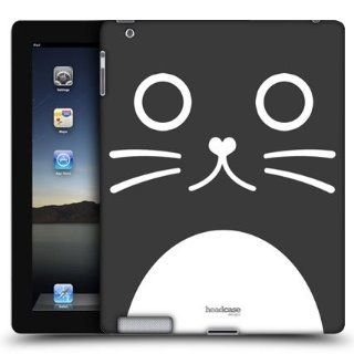 Head Case Catalina The Cat Cartoon Animal Face Back Case Cover For Apple iPad 2: Computers & Accessories