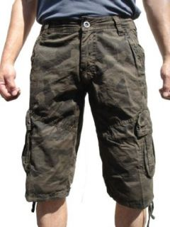 StoneTouch #28sC1 Men's Military Style Camo Cargo Shorts.: Clothing