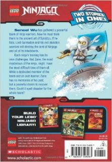LEGO Ninjago Chapter Book Zane, Ninja of Ice Scholastic, Greg Farshtey 9780545348287 Books