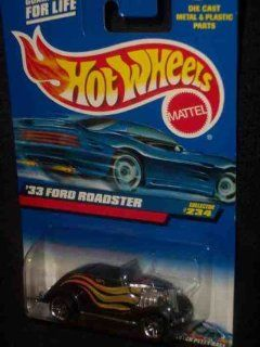 #2000 234 1933 Ford Roadster Pr 5 2000 card Collectible Collector Car Mattel Hot Wheels 1:64 Scale: Toys & Games