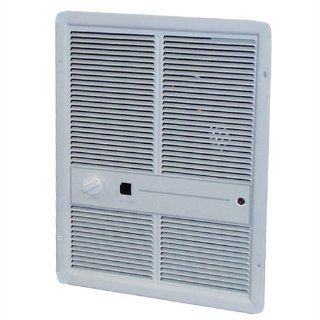 5, 120 BTU Fan Forced Electric Wall Space Heater with Summer Fan Forced Switch Finish: Ivory