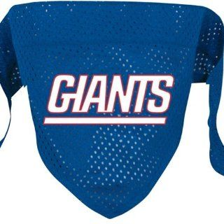 "NFL Dog Bandana Size: Large (21.5"" H x 9"" W x 0.2"" D), NFL Team: New York Giants: Pet Supplies"