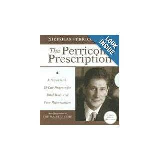 The Perricone Prescription Low Price CD: A Physician's 28 Day Program for Total Body and Face Rejuvenation: Nicholas, M.D. Perricone, Robb Webb: 9780061467738: Books