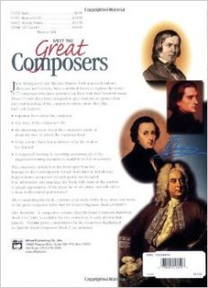 Meet the Great Composers Book 1 (Learning Link): June Montgomery, Maurice Hison: 0038081124513: Books