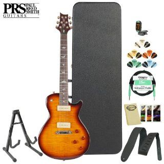 Paul Reed Smith SE 245 Soapbar (Tobacco Sunburst) Electric Guitar w/ Accessories & Hard Case: Musical Instruments