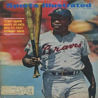 Hank Aaron 1969 Sports Illustrated Magazine: Sports Collectibles