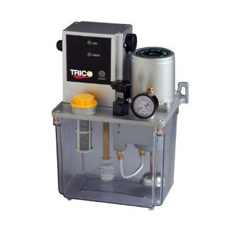 Trico PE 4003 Central Lubrication Continuous Pump with Manual Control, 3L Reservoir Capacity, 250 cc per minute Output Volume, 110V: Industrial & Scientific