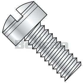 Bellcan BC MS35275 248 MS35275, Military Drilled Fillister MS Screw Coarse Threaded 300 Series S/S DFAR #8 32 X 7/8 (Box of 250): Machine Screws: Industrial & Scientific