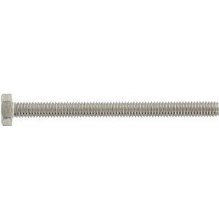 (250pcs) Metric DIN 933 M3X8 Hex Head Cap Screw with Full Thread Stainless Steel A4 Ships Free in USA: Cap Screws And Hex Bolts: Industrial & Scientific