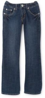 Levi's Girls 517 Flare Slim Fit Jeans 467 L/29: Clothing